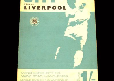 Man CIty v Liverpool 19.08.1967