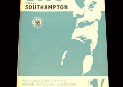 Man City v Southampton 30.08.1967