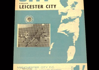 Man City v Leicester 13.09.1967 - League Cup 2nd Round