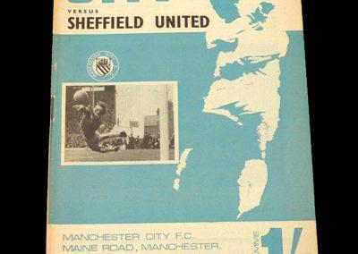 Man City v Sheffield Utd 16.09.1967