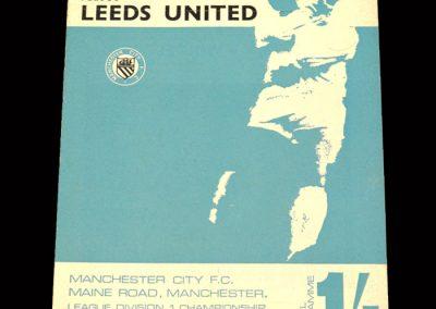 Man City v Leeds 28.10.1967