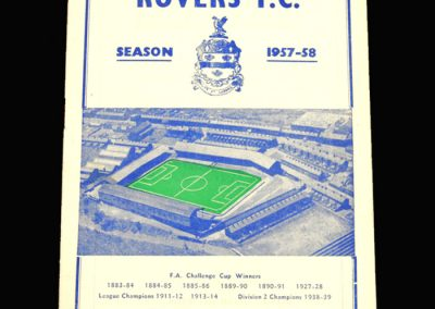 Notts County v Blackburn 28.12.1957