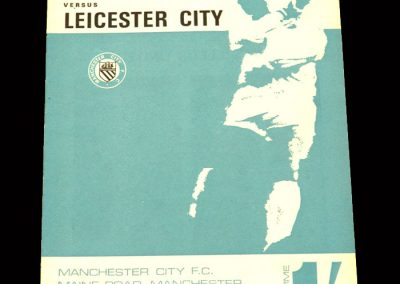 Man City v Leicester 11.11.1967