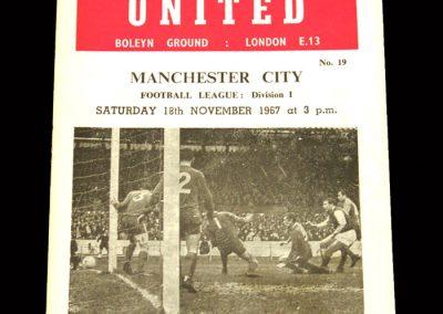 Man City v West Ham 18.11.1967
