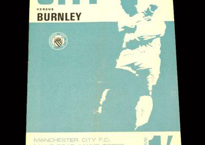 Man City v Burnley 25.11.1967