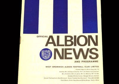 Man City v West Brom 26.12.1967