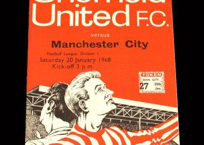 Man CIty v Sheff Utd 20.01.1968
