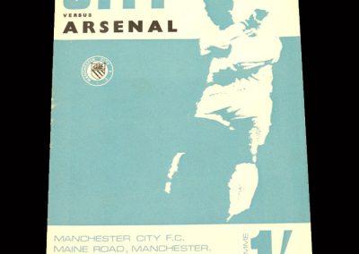 Man City v Arsenal 03.02.1968