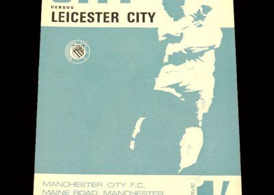Man City v Leicester 17.02.1968 - FA Cup 4th Round