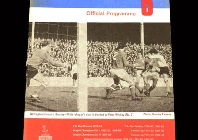 Man City v Burnley 02.03.1968
