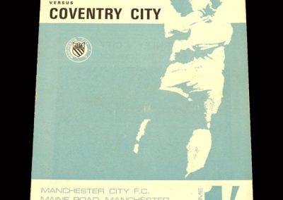 Man City v Coventry 09.03.1968