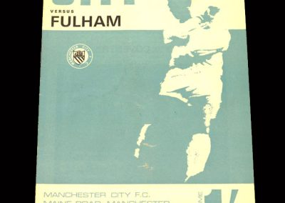 Man City v Fulham 16.03.1968