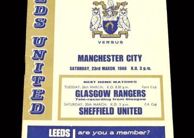 Man City v Leeds 23.03.1968