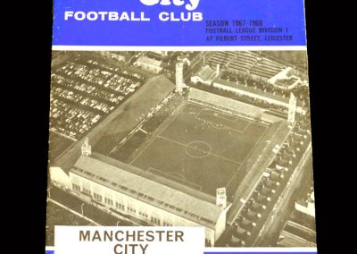 Man City v Leicester 06.04.1968