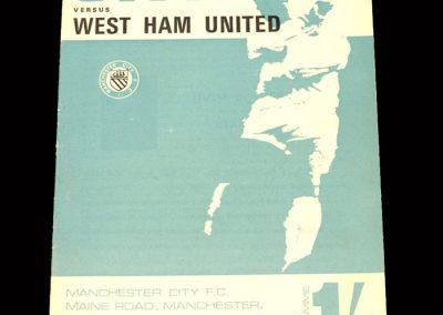 Man City v West Ham 13.04.1968
