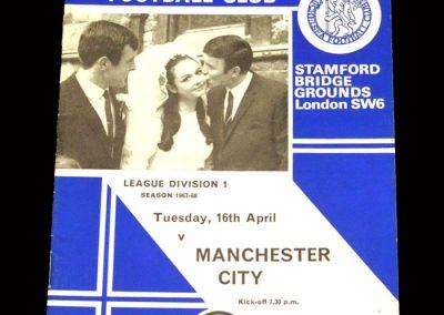 Man City v Chelsea 16.04.1968