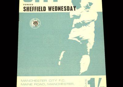 Man City v Sheff Wed 25.04.1968