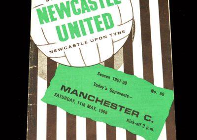 Man City v Newcastle 11.05.1968