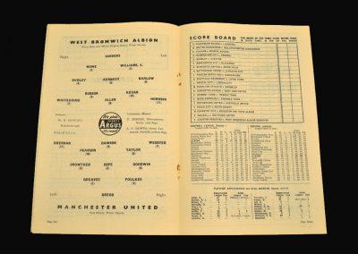 West Brom v Man Utd 01.03.1958 FA Cup 6th Round