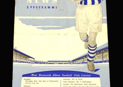 West Brom v Everton 15.03.1958