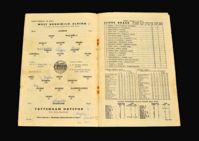 West Brom v Spurs 07.04.1958