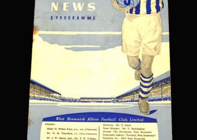 West Brom v Leicester 12.04.1958