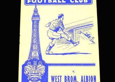 West Brom v Blackpool 19.04.1958