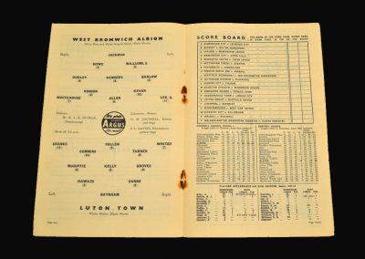 West Brom v Luton 26.04.1958