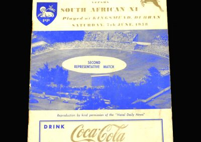 Preston v South Africa 11 07.06.1958