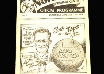 Preston v Arsenal 23.08.1958