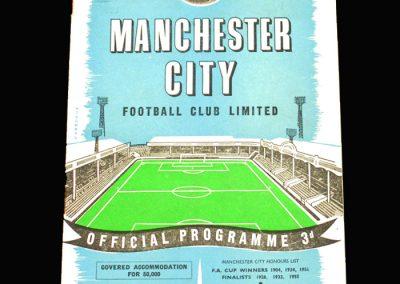 Preston v Man City 30.08.1958