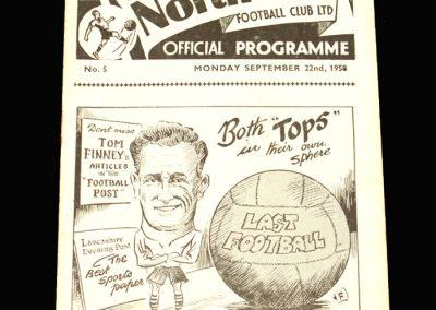 Preston v Leicester 22.09.1958