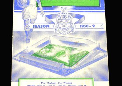 Preston v Blackburn 11.10.1958