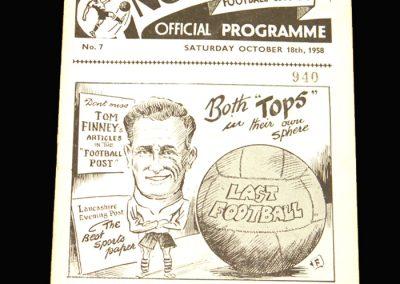 Preston v Newcastle 18.10.1958
