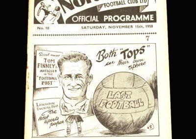 Preston v Portsmouth 15.11.1958