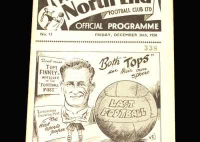 Preston v Blackpool 26.12.1958