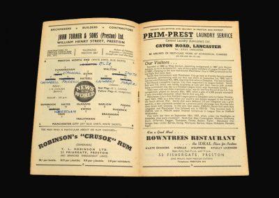 Preston v Man City 03.01.1959