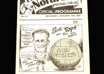 Preston v Bradford 24.01.1959 FA Cup 4th Round
