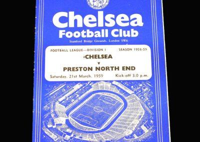 Preston v Chelsea 21.03.1959