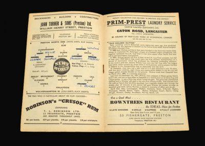 Preston v Wolves 28.03.1959