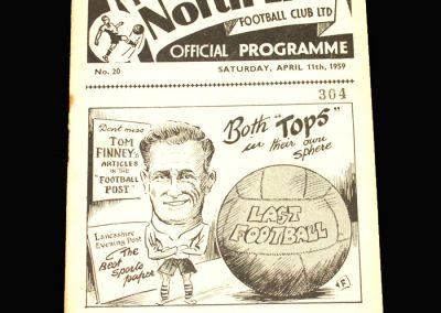 Preston v Aston Villa 11.04.1959