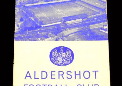 Bradford PA v Aldershot 19.10.1963