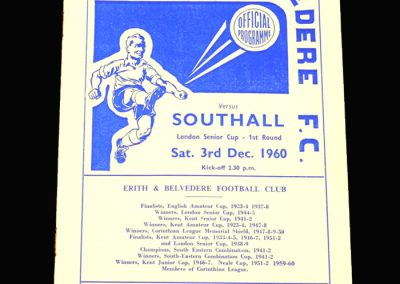 Erith v Southall 03.12.1960