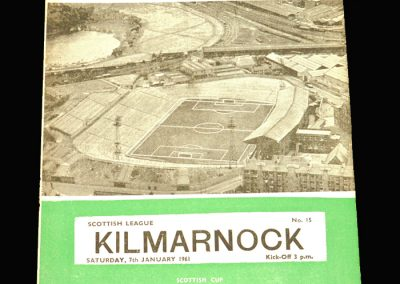 Hibernian v Kilmarnock 07.01.1961
