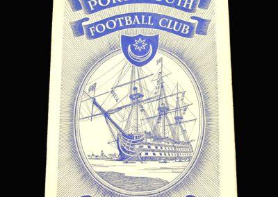 Portsmouth v Peterborough 07.01.1961