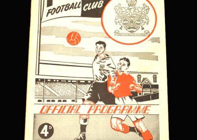 Fulham v Aston Villa 08.04.1961