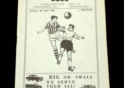 Bradford PA v Darlington 04.04.1964