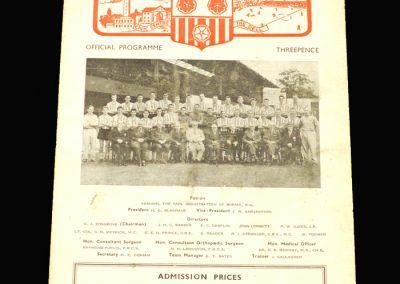 Southampton v Walsall 24.08.1957