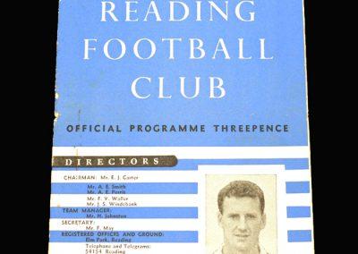 Reading v Plymouth 04.09.1957