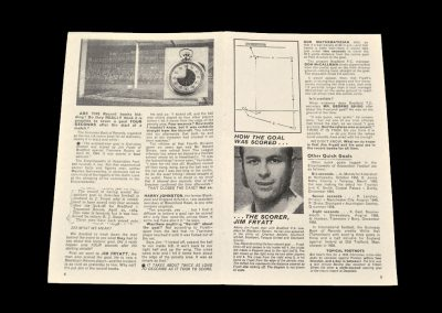 Bradford PA v Tranmere 25.04.1964 - Jim Fryatt 4 Sec Goal Report